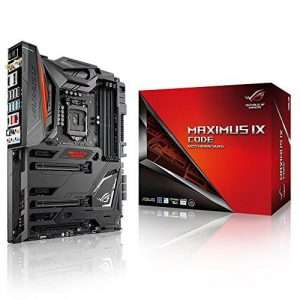 Motherboard Maximus IX, meant to be used for overclocking & gaming