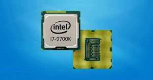 9th Generation CPU the I7 9700K