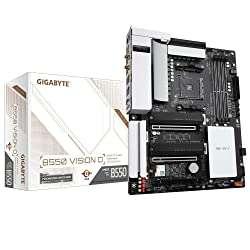 Gigabyte B550 Vision D Motherboard